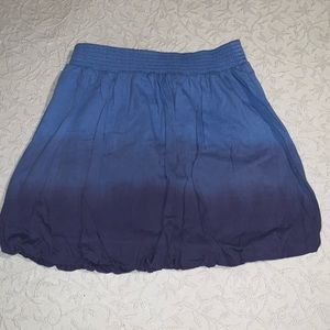 NWT Tommy Hillfiger girls ombre skirt